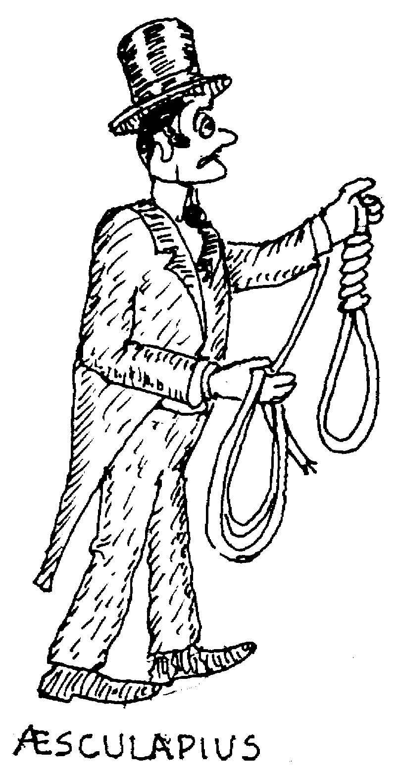 Sketch of Æsculapius