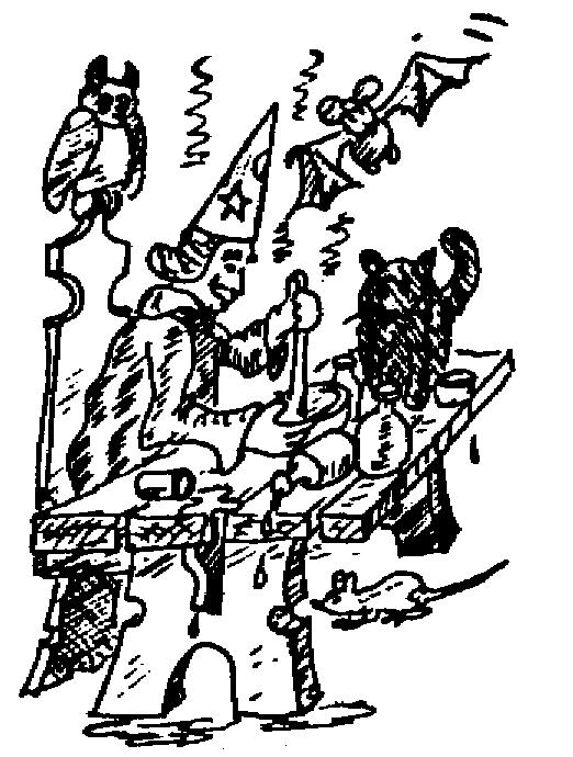 Sketch of an Alchemist