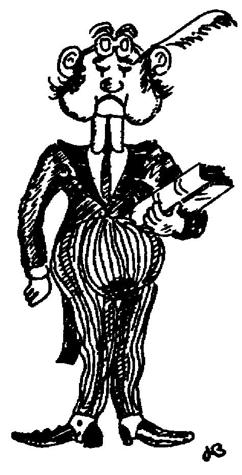 Sketch of Articled clerk