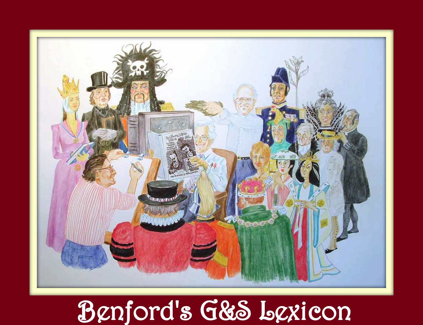 Benford Online Lexicon Cover Art