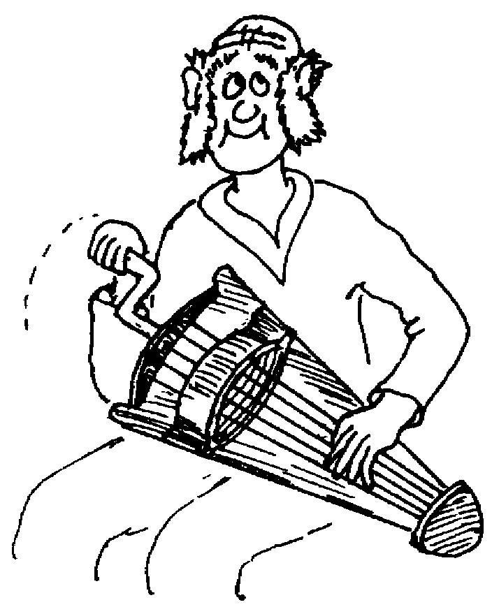 Sketch of a Hurdy-gurd