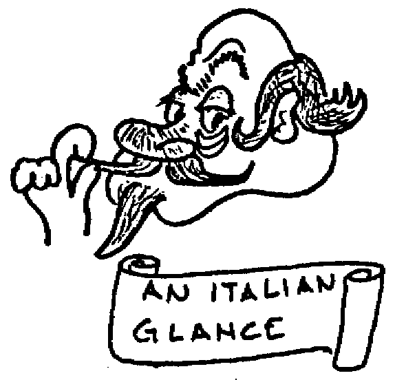 Sketch of An Italian glance