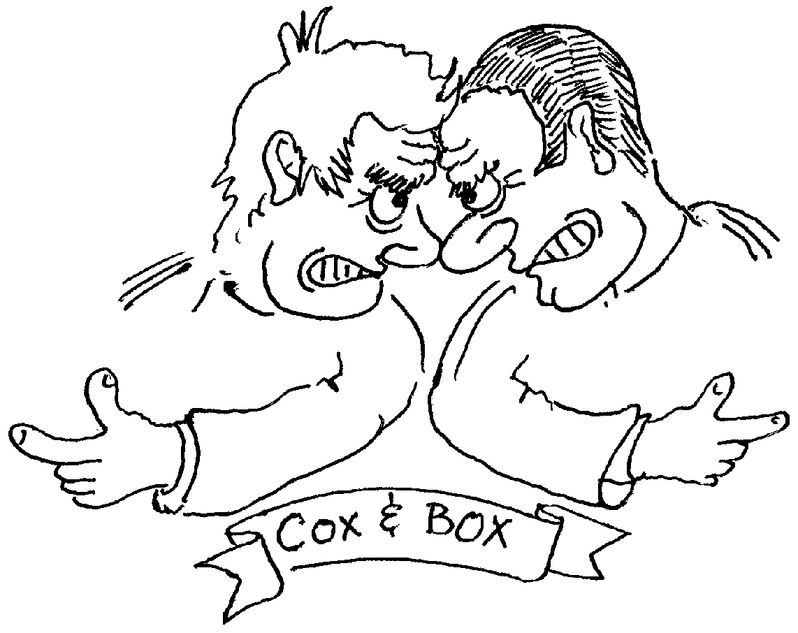 Sketch of Cox & Box