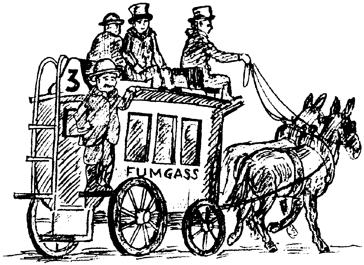 Sketch of a Threepenny bus (named FUMGASS)