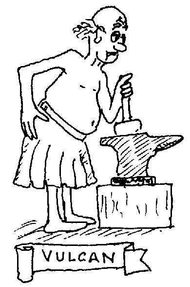 Sketch of Vulcan