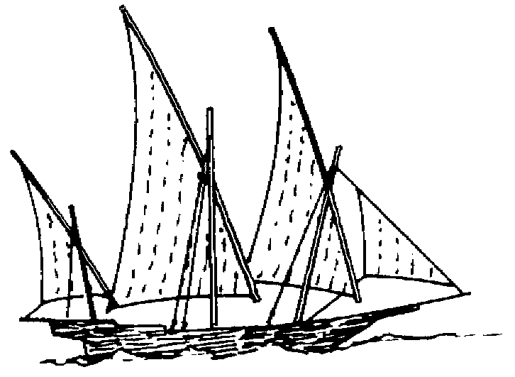 Sketch of a Xebeque