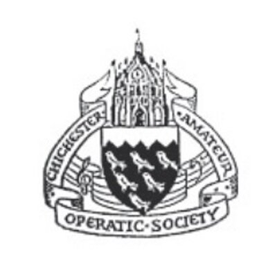 CAOS logo from Chichester Amateur Operatic Society