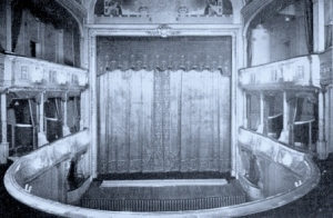 Photo of the Interior of the Savoy Theatre, London, pre-1920