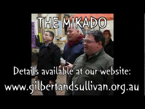GSOV - Gilbert and Sullivan Opera Victoria - Presents: The Mikado - 2012