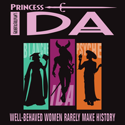 The Gilbert and Sullivan Society of Houston banner for Princess Ida 2016