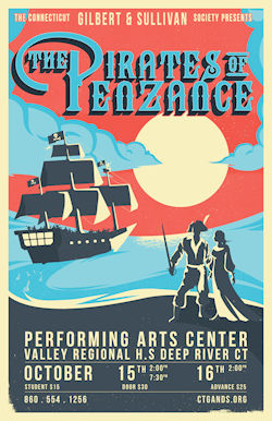 CT Gilbert & Sullivan Society Pirates of Penzance