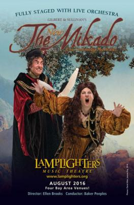 Lamplighters Music Theatre - The Mikado, 2016