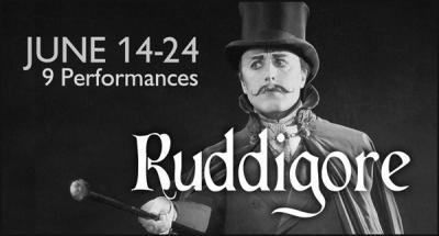 G&S Austin banner for Ruddigore 2018