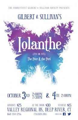 Iolanthe Show Poster
