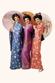 New York Gilbert and Sullivan Players photo of The Mikado's Three Little Maids