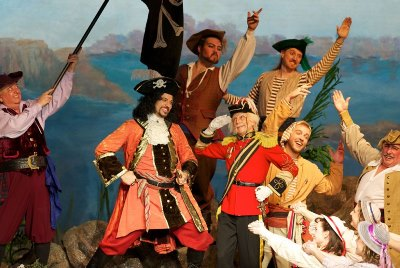 New York Gilbert and Sullivan Players photo from Pirates of Penzance, 2015