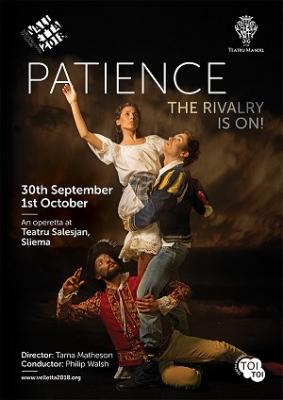 Teatru Manoel poster for Patience 2017