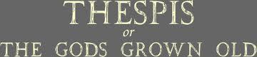 Thespis UMGASS logo