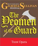 Banner for Trent Opera production of The Yeomen of the Guard, 2015 Festival