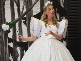 Kate Amos - Soprano as The Dew Fairy (Hansel & Gretel) - Victorian Opera, 2016