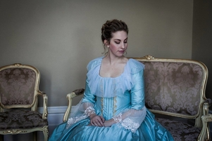 Kate Amos as CINDERELLA in Cendrillon - Massenet, Victorian Opera, 2016